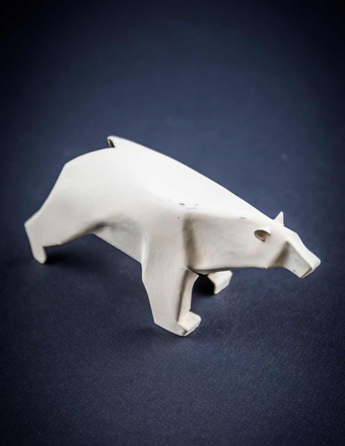 ours blanc bronze