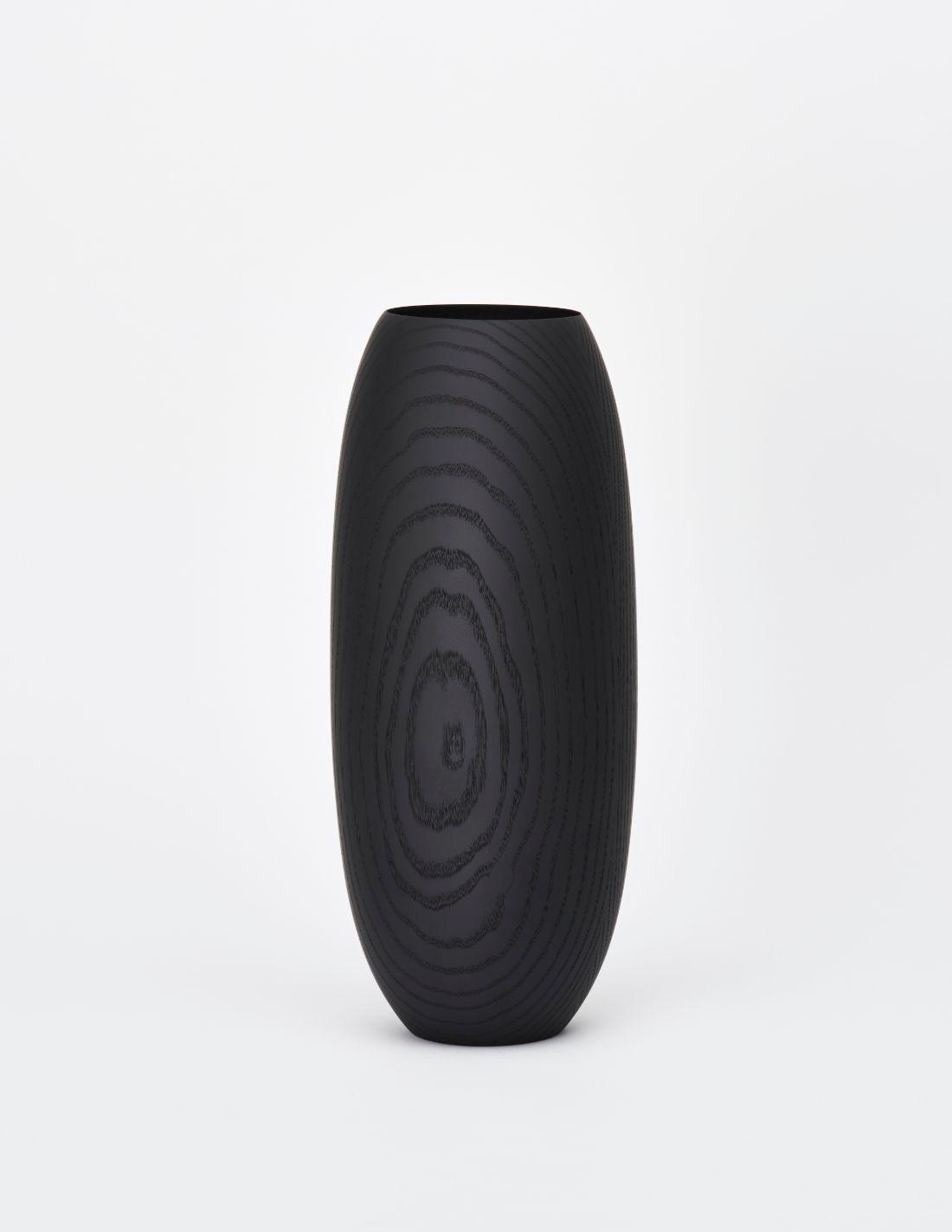 """Vase """"Flusso Black Ash Grande"""""""