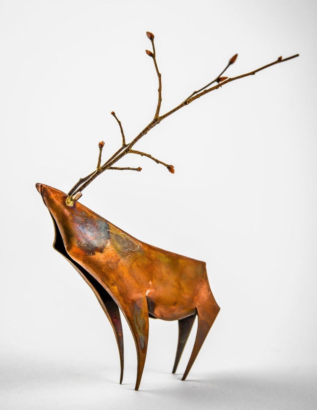 Cerf bronze
